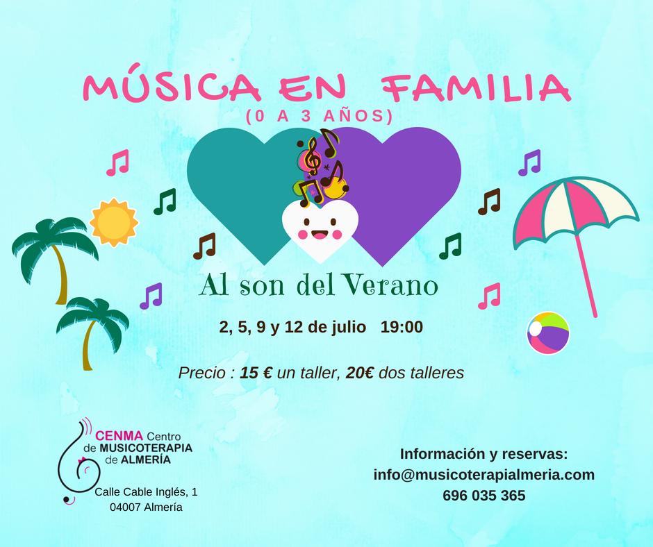 Música en Familia en julio