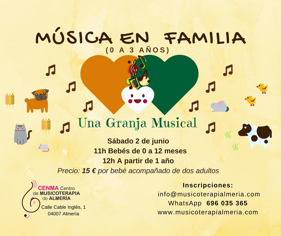 Musica en Familia en Junio